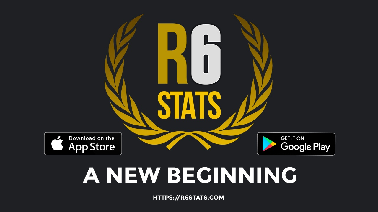 Welcome to R6Stats v2 Header